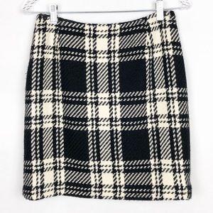 International Concepts High Waisted Wool Skirt